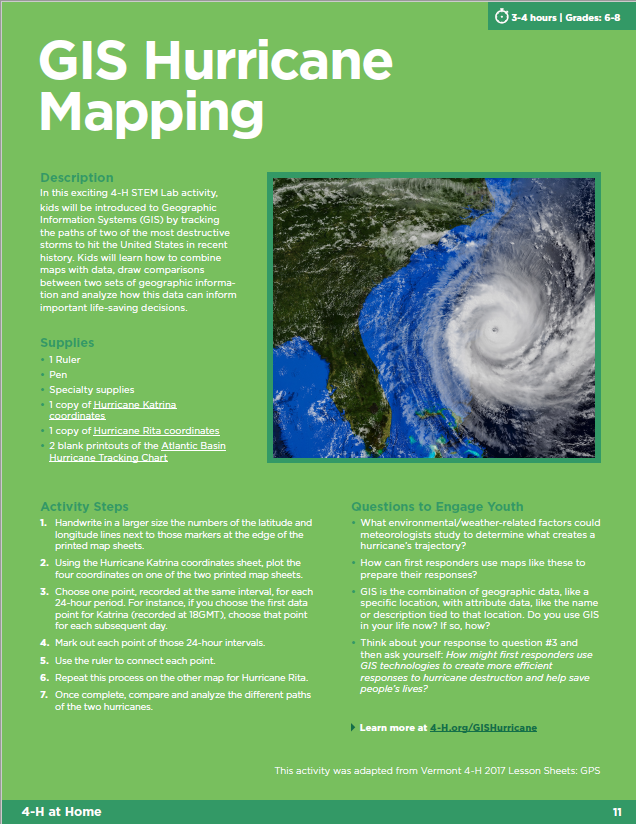 Hurricane Mapping