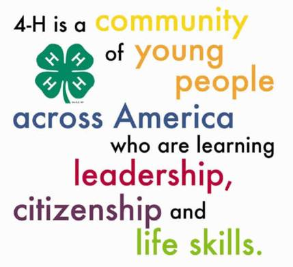 4-H is a community message