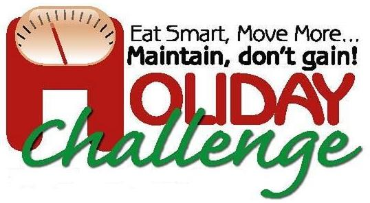 Eat Smart Move More Maintain don't gain Holiday Challenge