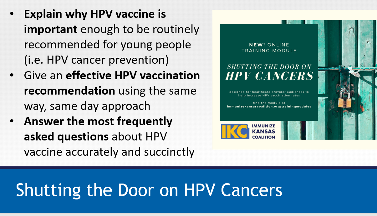 HPV VACCINE  TOOLKIT
