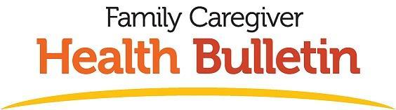 Caregiver Health Bulletin header