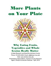 More Plants on Your Plate